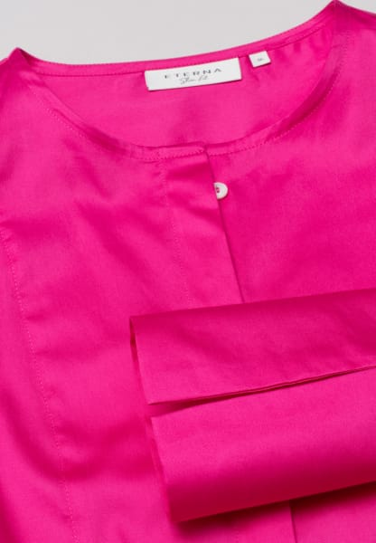 ETERNA LANGE MOUW BLOUSE SLIM FIT ROZE UNI