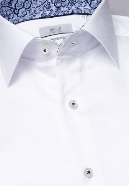 ETERNA LANGE ARM HEMD COMFORT FIT GENTLE SHIRT TWILL WIT UNI