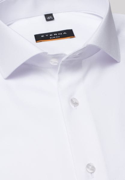 ETERNA LANGE ARM HEMD SLIM FIT COVER SHIRT TWILL WIT UNI